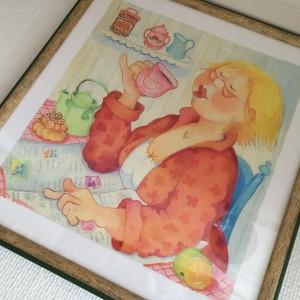 Posters och vykort Birgitta Lindeblad